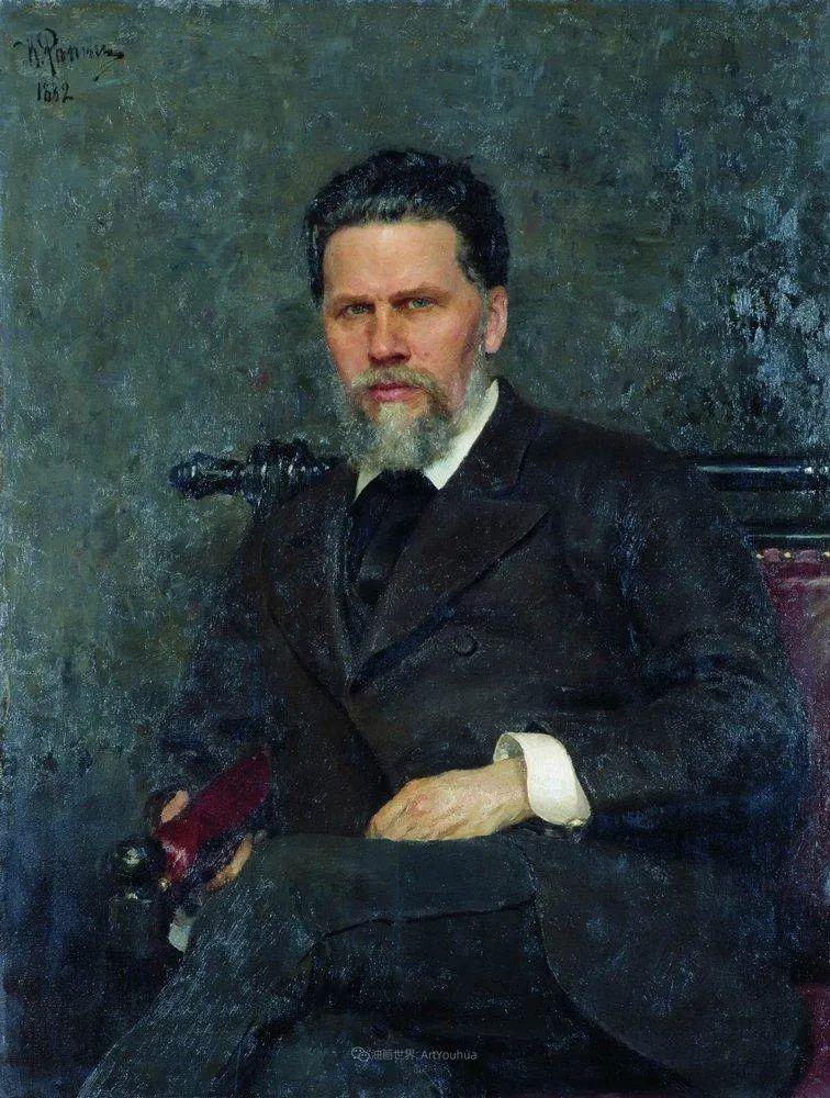 现实主义巨匠列宾, 男性肖像作品精选 170幅插图298