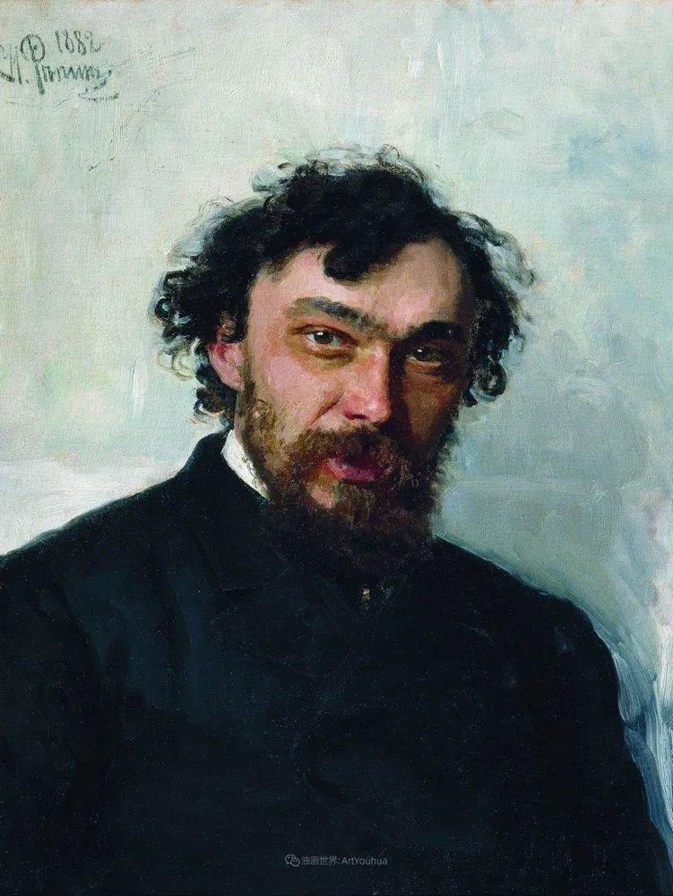 现实主义巨匠列宾, 男性肖像作品精选 170幅插图300