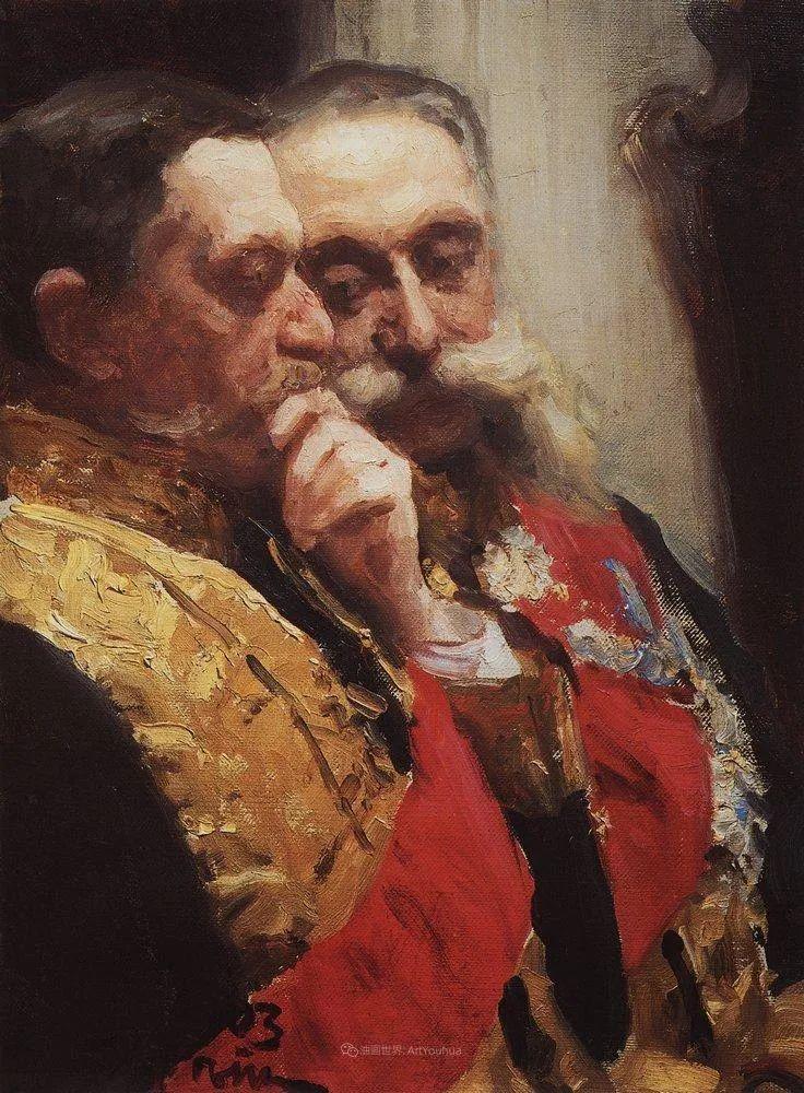现实主义巨匠列宾, 男性肖像作品精选 170幅插图316