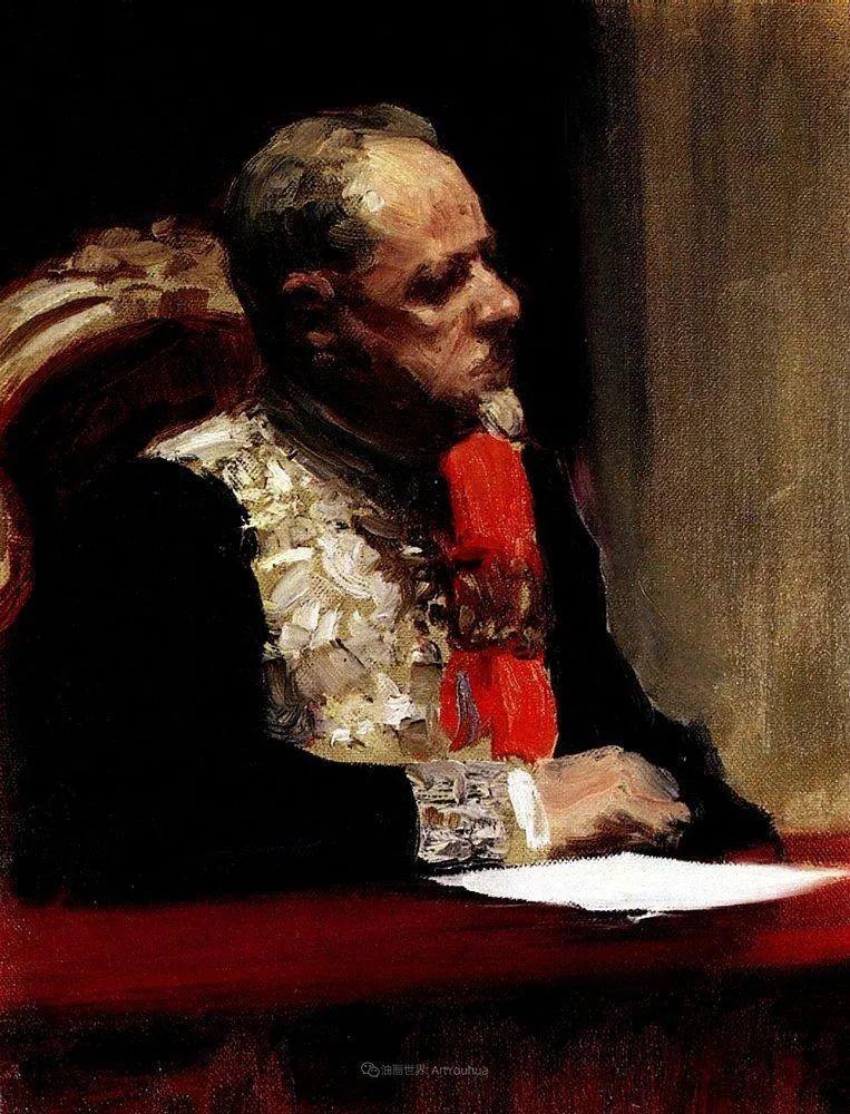 现实主义巨匠列宾, 男性肖像作品精选 170幅插图318