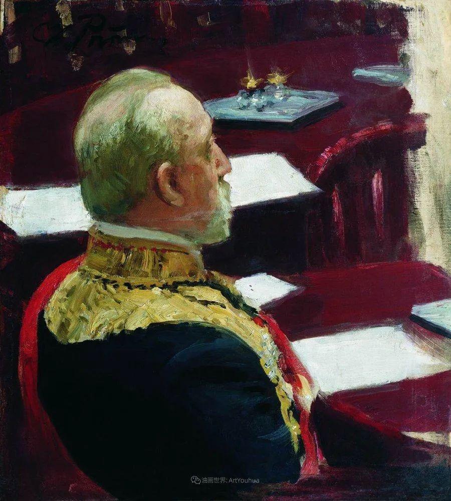 现实主义巨匠列宾, 男性肖像作品精选 170幅插图322