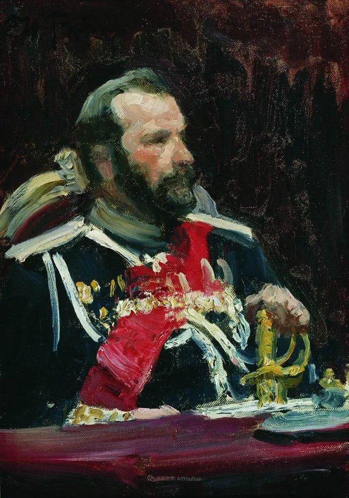 现实主义巨匠列宾, 男性肖像作品精选 170幅插图328