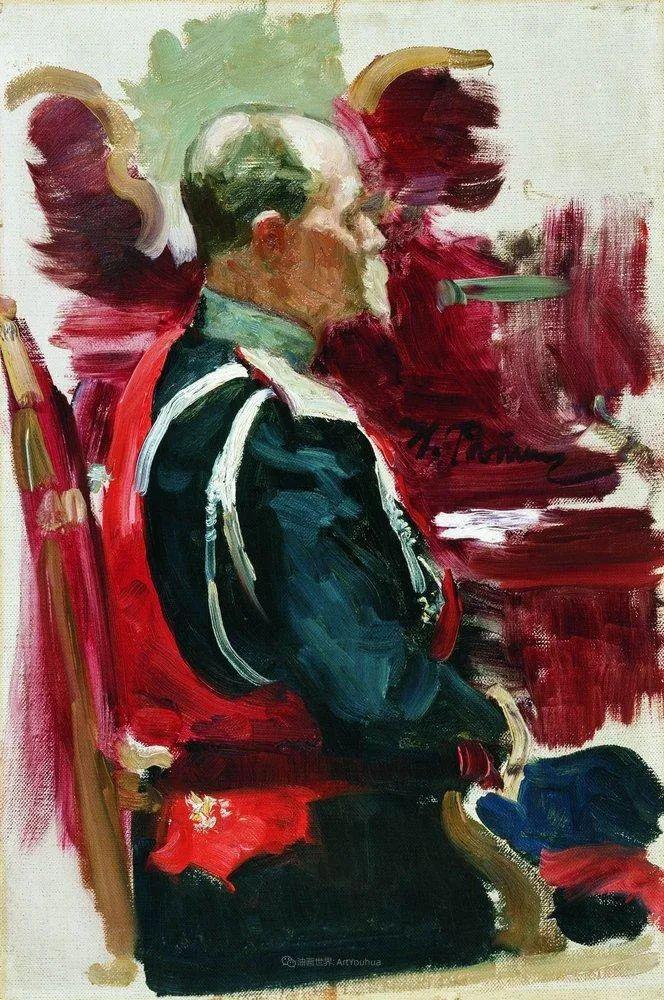现实主义巨匠列宾, 男性肖像作品精选 170幅插图330