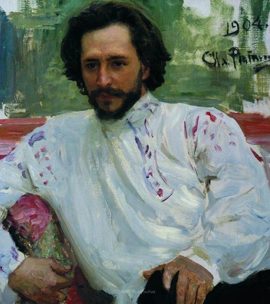 现实主义巨匠列宾, 男性肖像作品精选 170幅插图336
