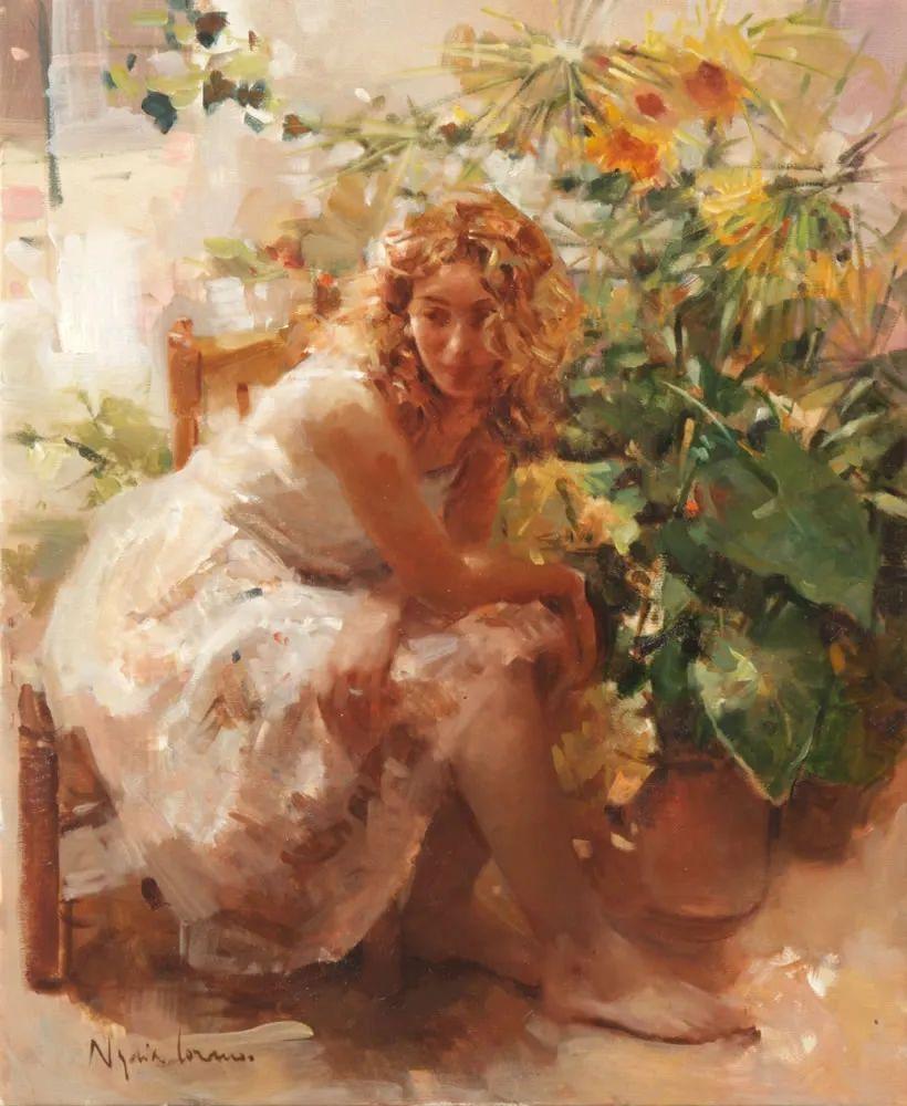 她笔下美丽的女人,像花一样尽情的绽放!插图17