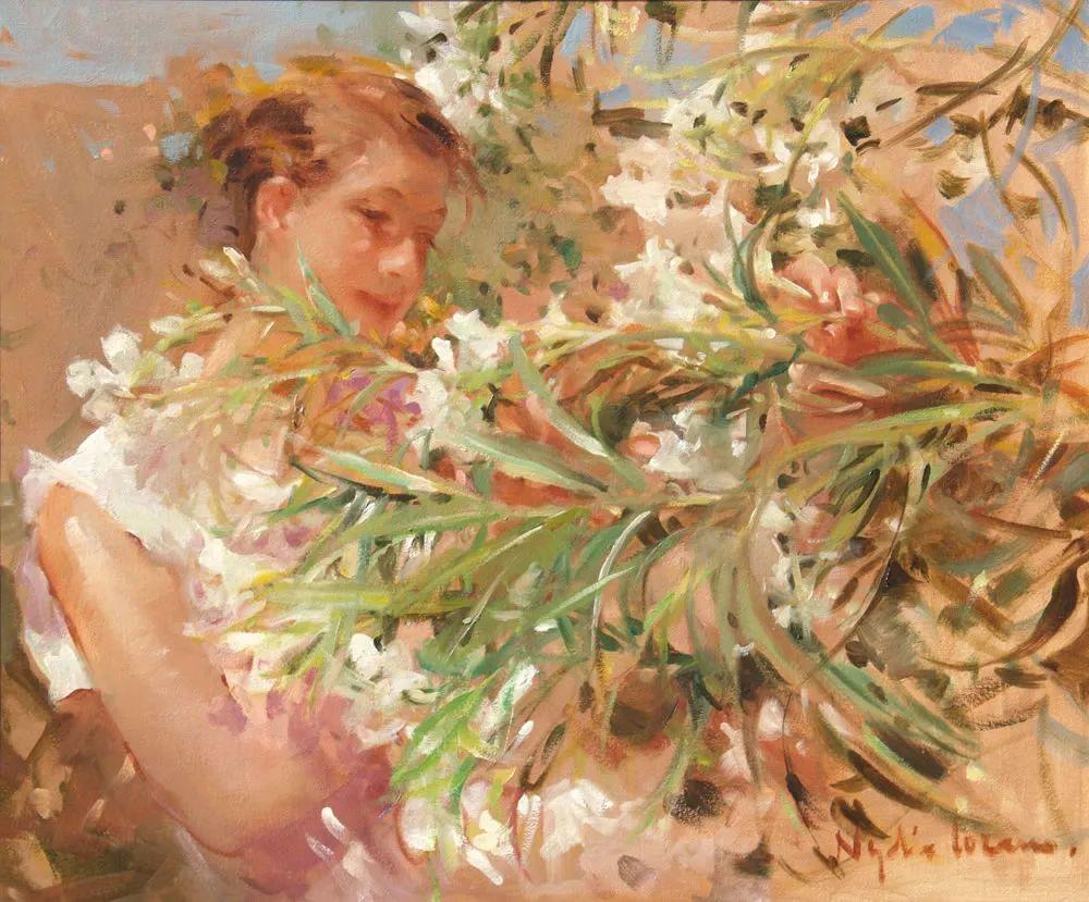 她笔下美丽的女人,像花一样尽情的绽放!插图25