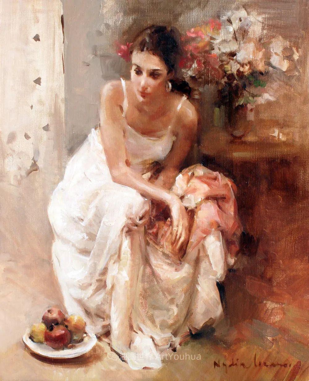 她笔下美丽的女人,像花一样尽情的绽放!插图29
