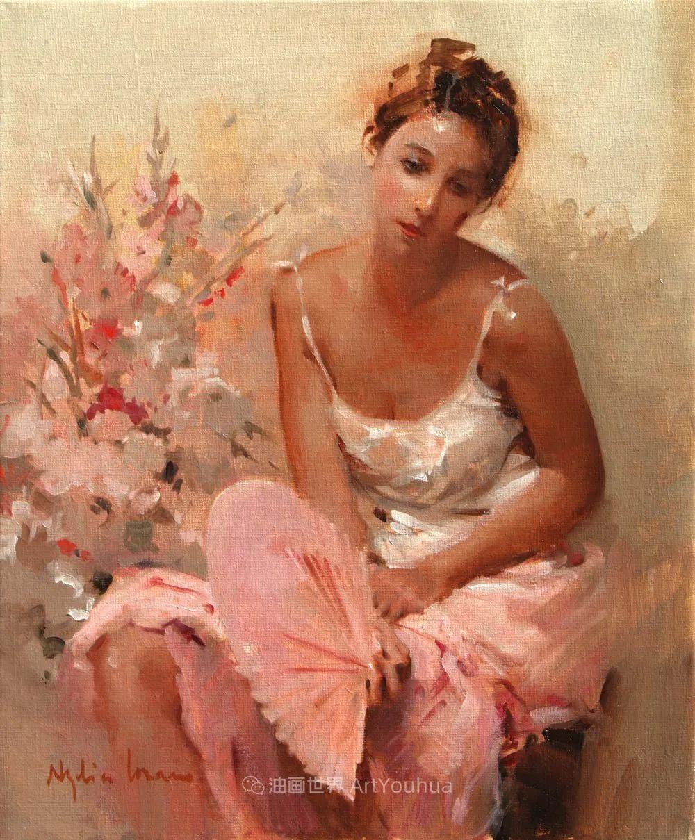 她笔下美丽的女人,像花一样尽情的绽放!插图31