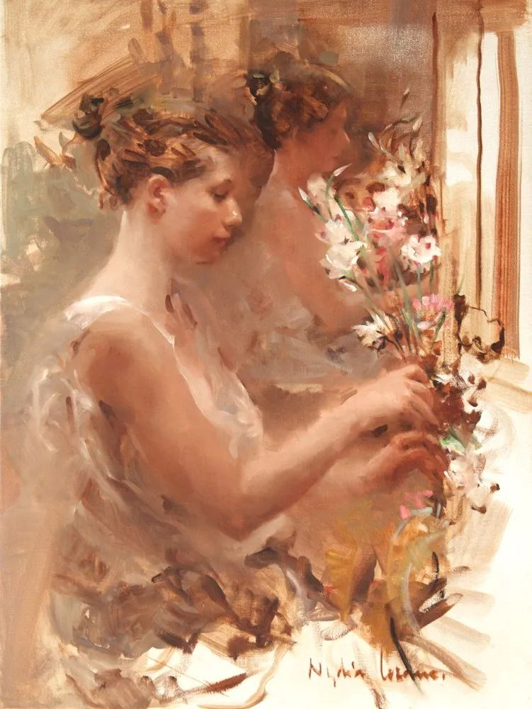 她笔下美丽的女人,像花一样尽情的绽放!插图33
