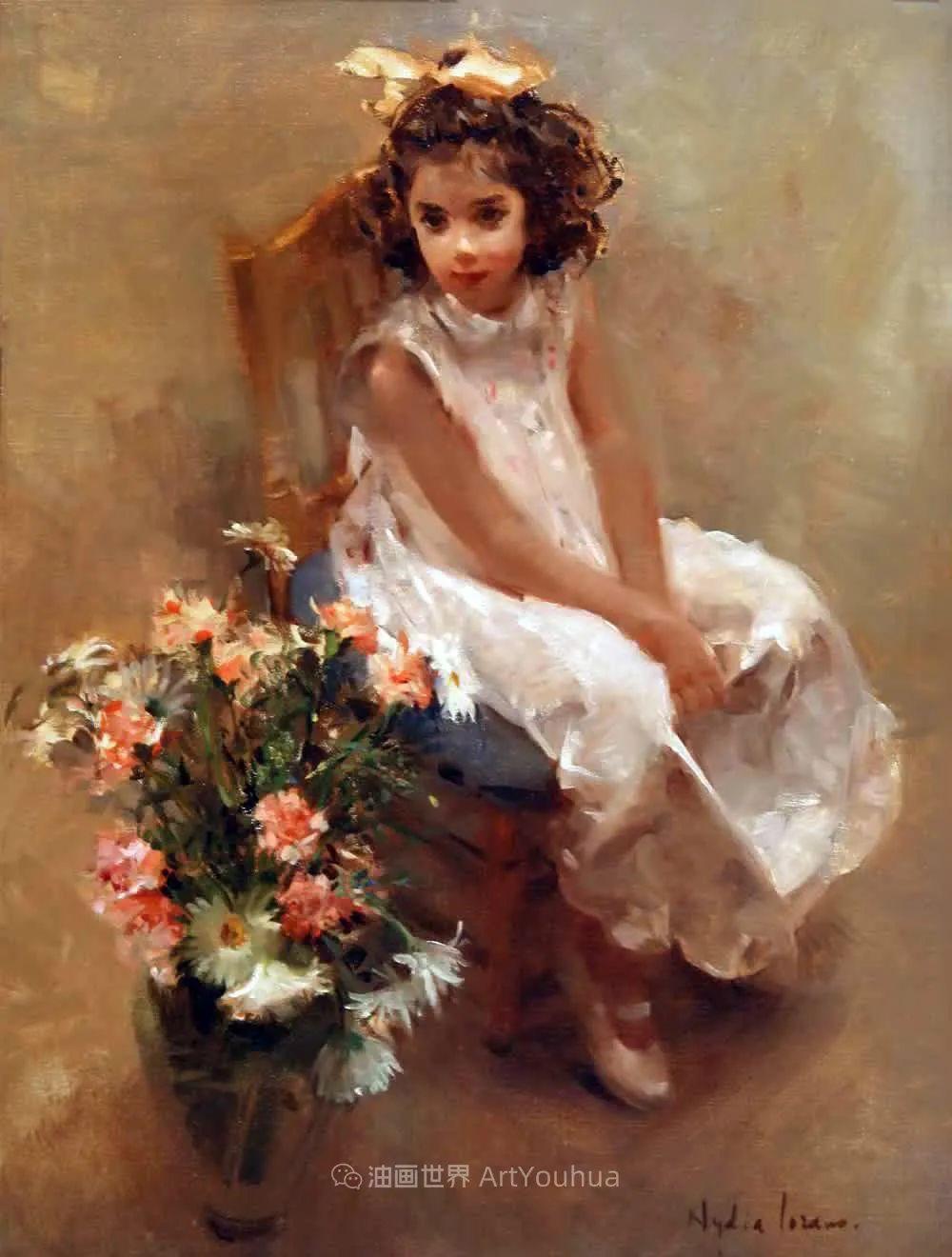 她笔下美丽的女人,像花一样尽情的绽放!插图43