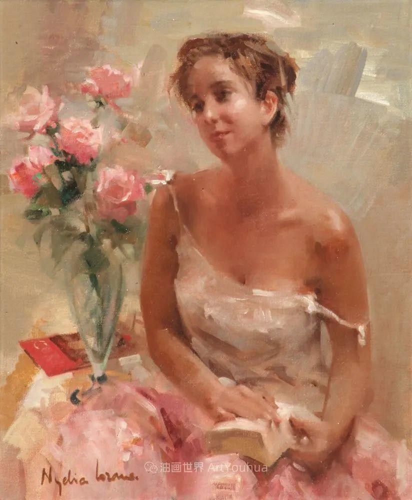 她笔下美丽的女人,像花一样尽情的绽放!插图53
