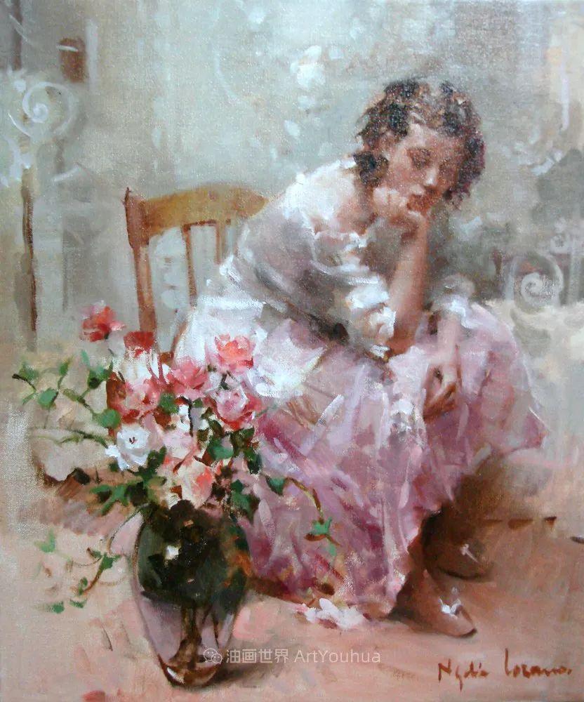 她笔下美丽的女人,像花一样尽情的绽放!插图65