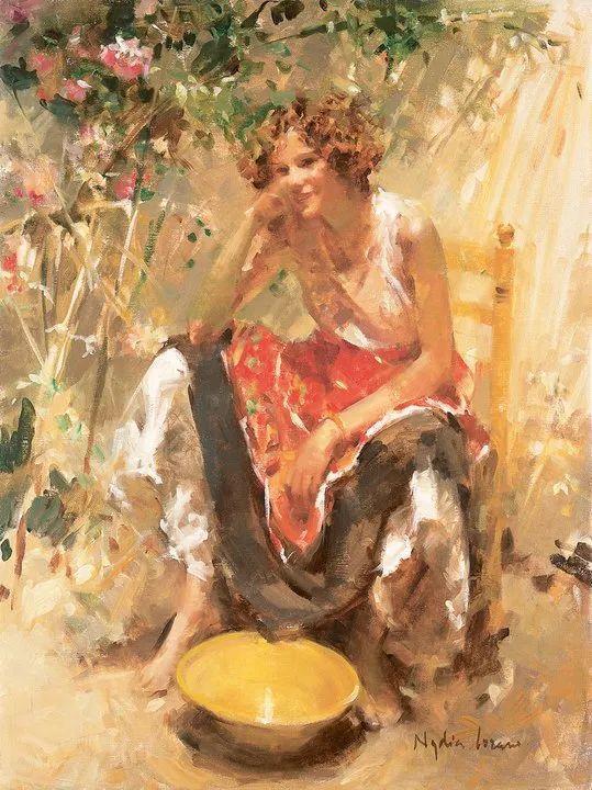 她笔下美丽的女人,像花一样尽情的绽放!插图73