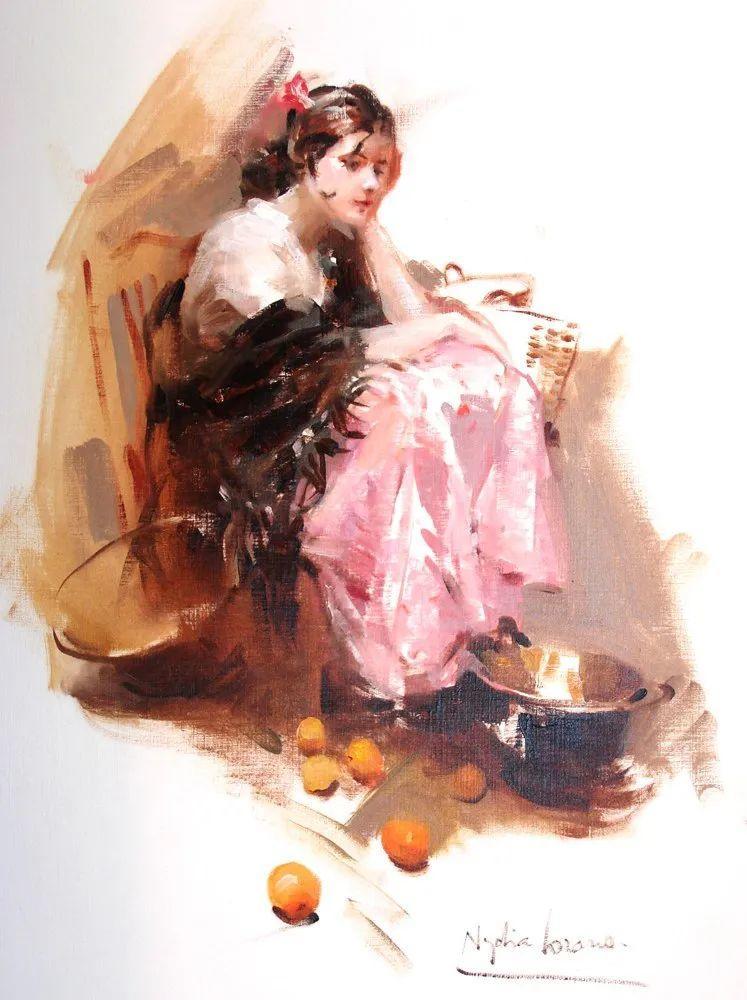 她笔下美丽的女人,像花一样尽情的绽放!插图77