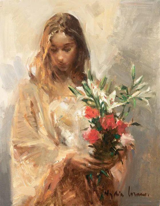 她笔下美丽的女人,像花一样尽情的绽放!插图81