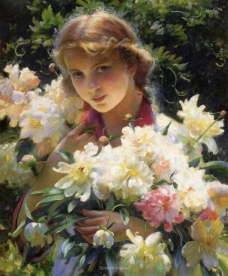 他画笔下的女人, 犹如春天的茉莉花, 清香、娇艳而不失典雅!插图1