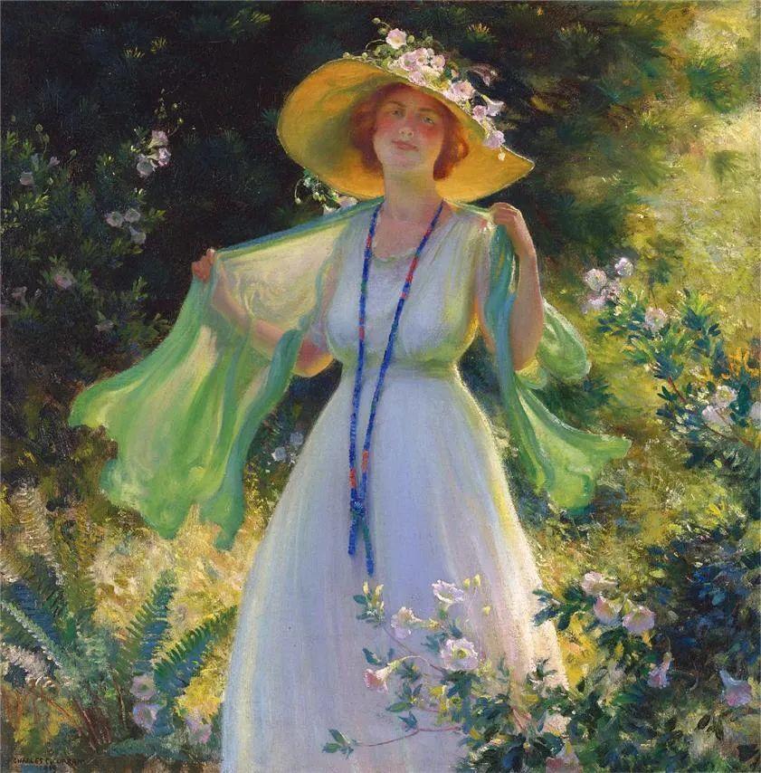 他画笔下的女人, 犹如春天的茉莉花, 清香、娇艳而不失典雅!插图3