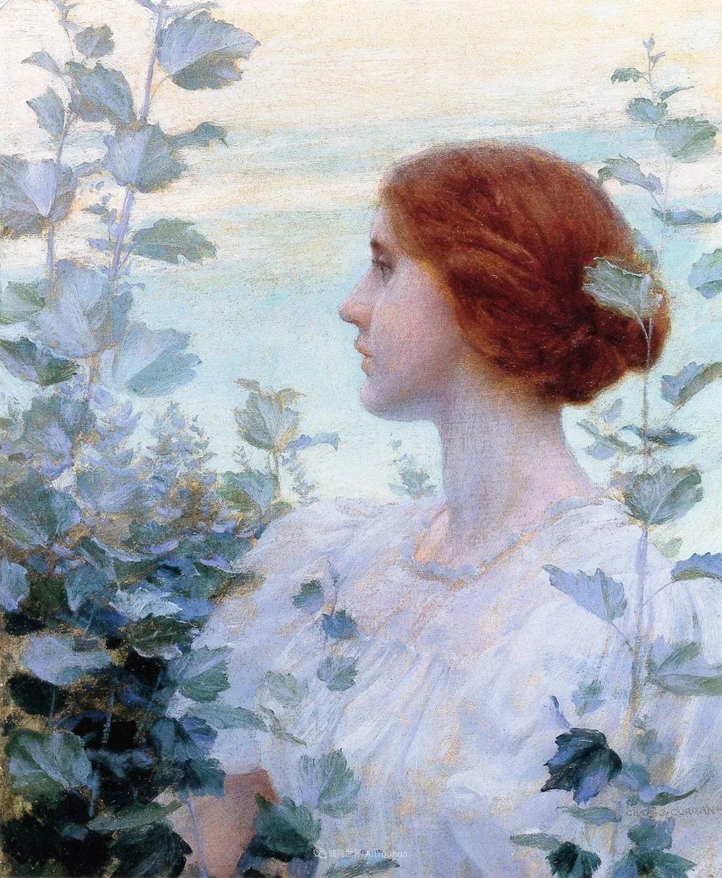他画笔下的女人, 犹如春天的茉莉花, 清香、娇艳而不失典雅!插图7