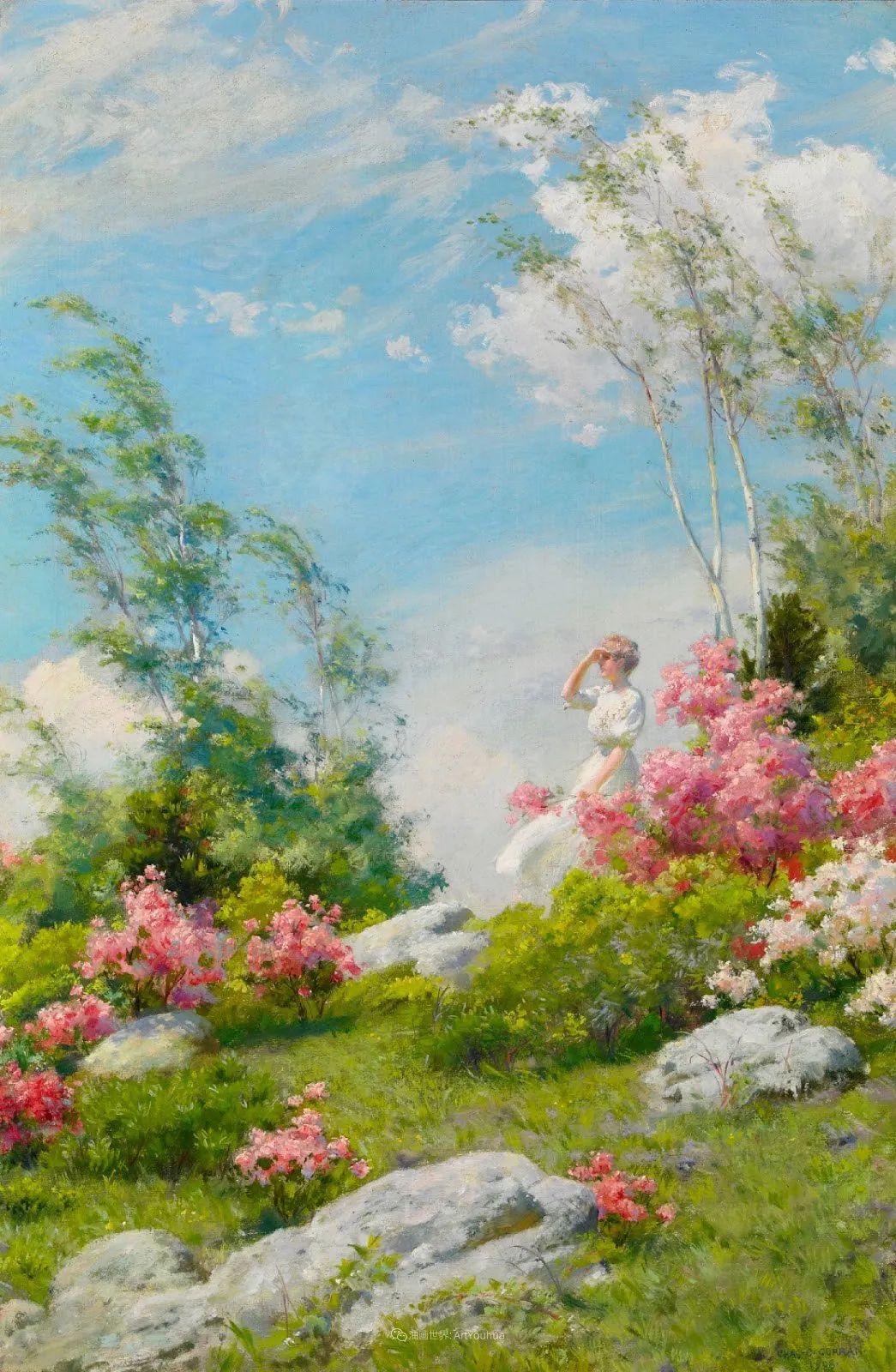 他画笔下的女人, 犹如春天的茉莉花, 清香、娇艳而不失典雅!插图15