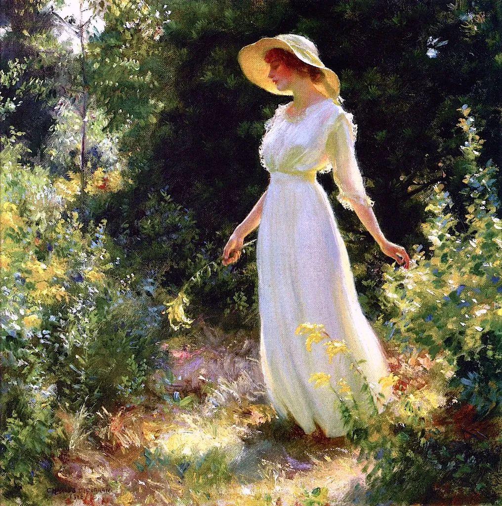 他画笔下的女人, 犹如春天的茉莉花, 清香、娇艳而不失典雅!插图33