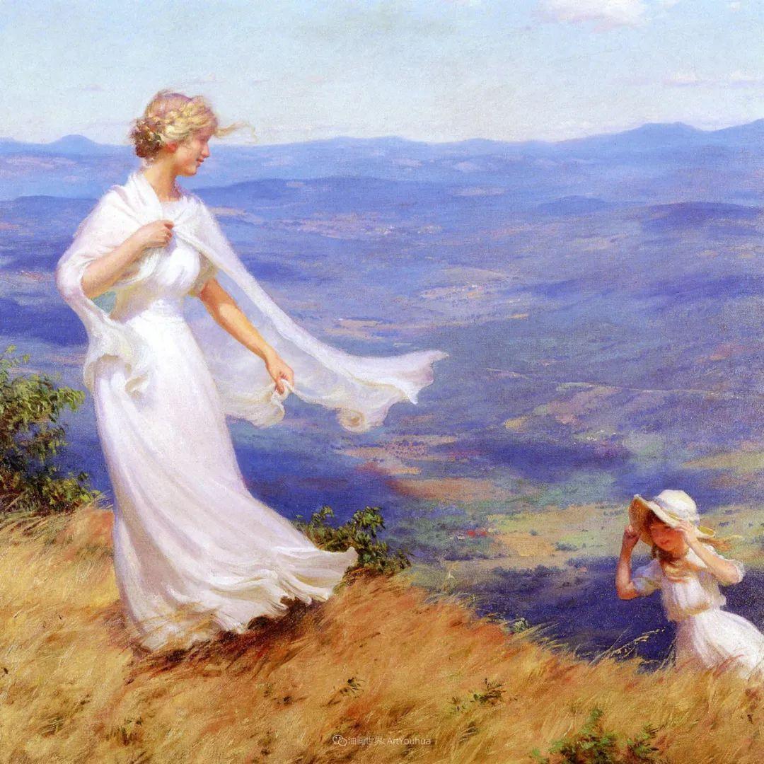他画笔下的女人, 犹如春天的茉莉花, 清香、娇艳而不失典雅!插图35