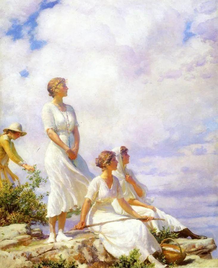他画笔下的女人, 犹如春天的茉莉花, 清香、娇艳而不失典雅!插图39