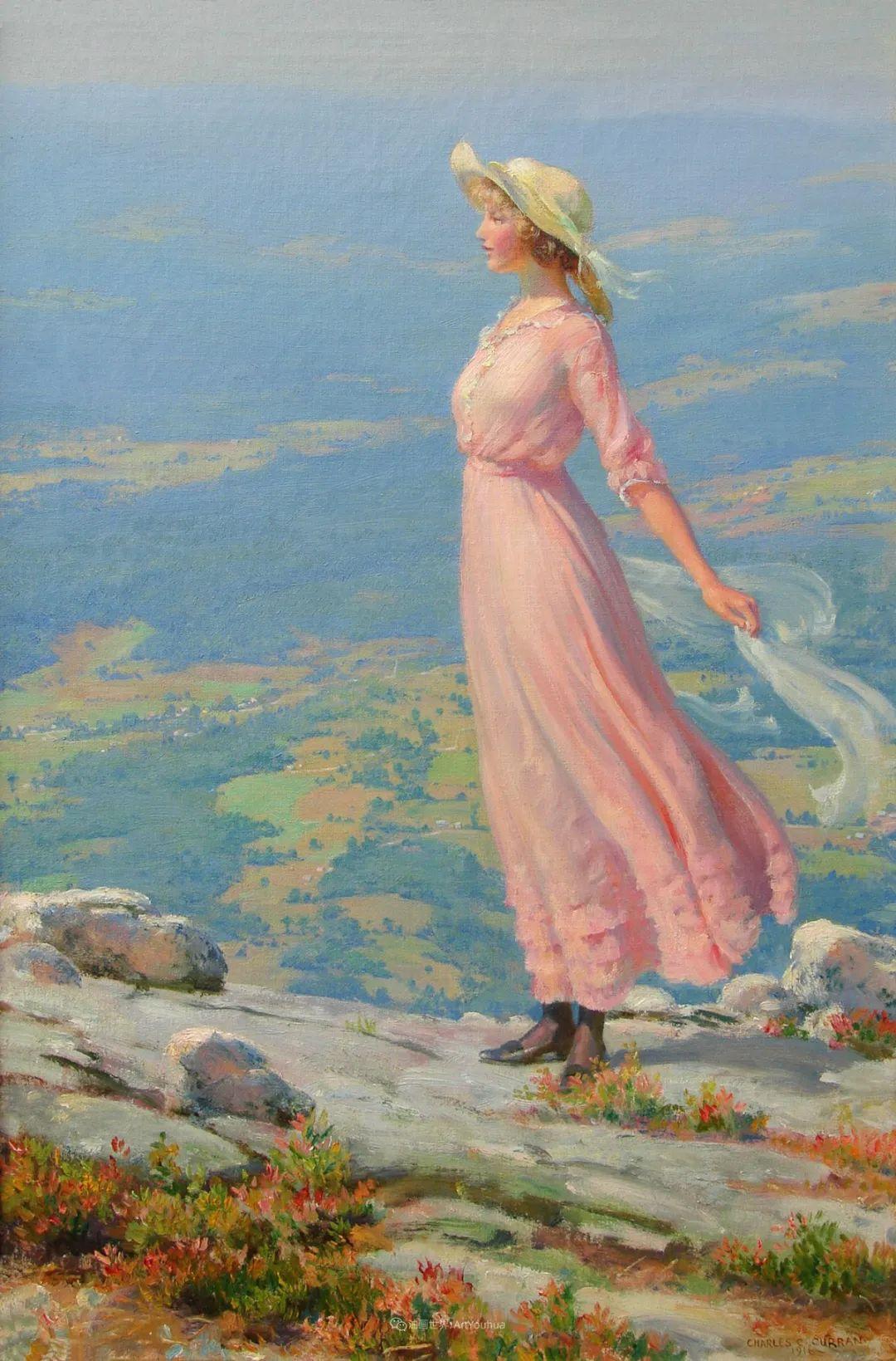 他画笔下的女人, 犹如春天的茉莉花, 清香、娇艳而不失典雅!插图41