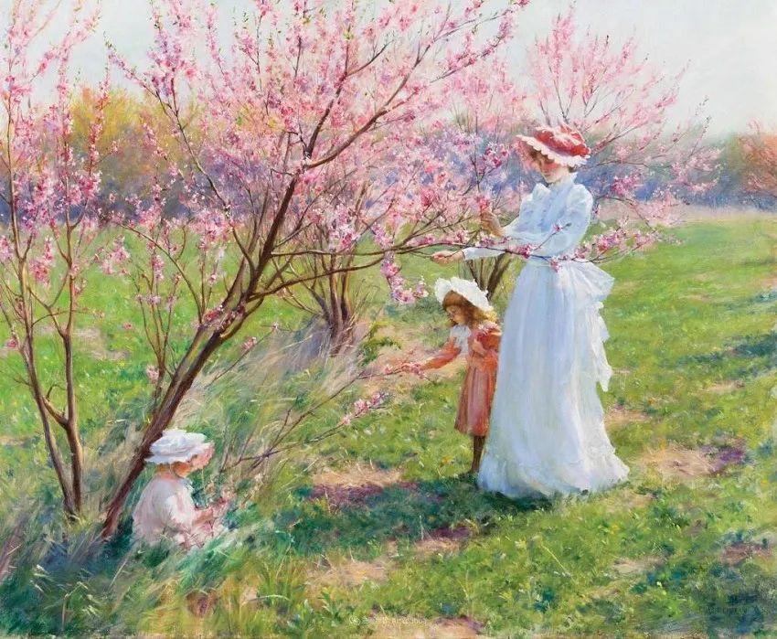 他画笔下的女人, 犹如春天的茉莉花, 清香、娇艳而不失典雅!插图63