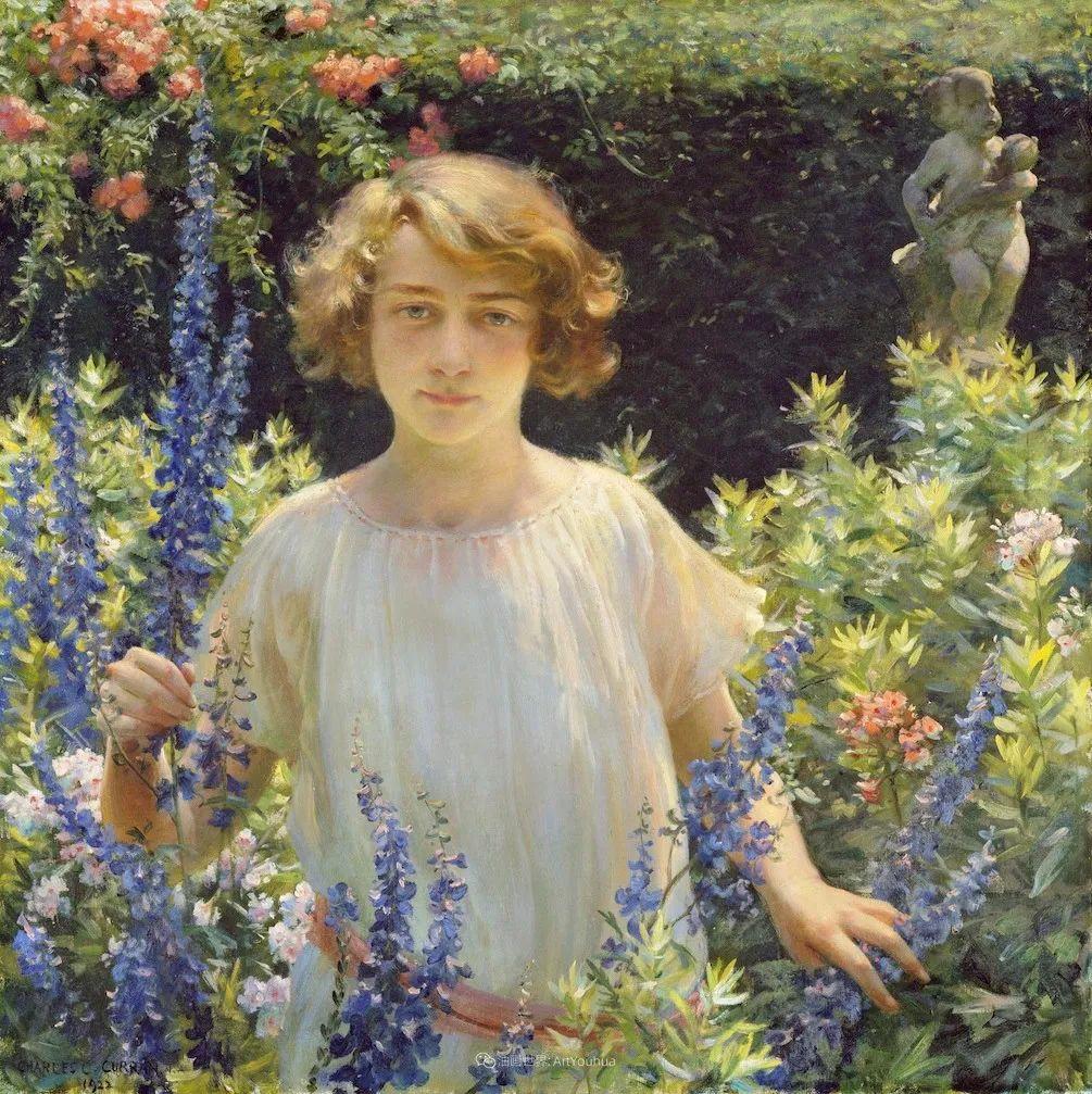 他画笔下的女人, 犹如春天的茉莉花, 清香、娇艳而不失典雅!插图65