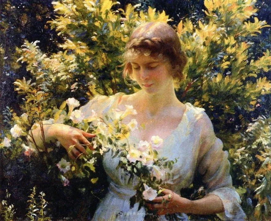 他画笔下的女人, 犹如春天的茉莉花, 清香、娇艳而不失典雅!插图67