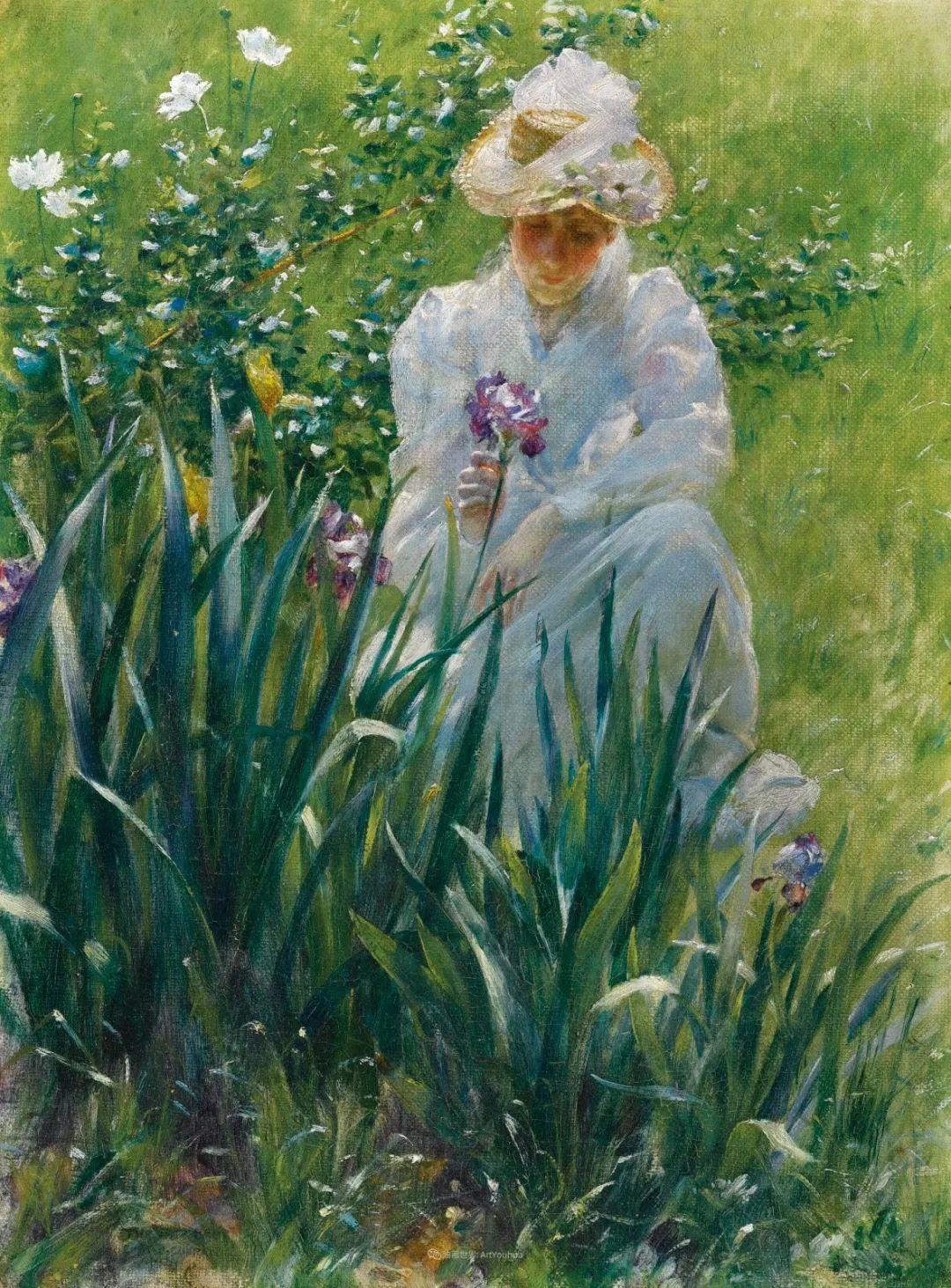 他画笔下的女人, 犹如春天的茉莉花, 清香、娇艳而不失典雅!插图73