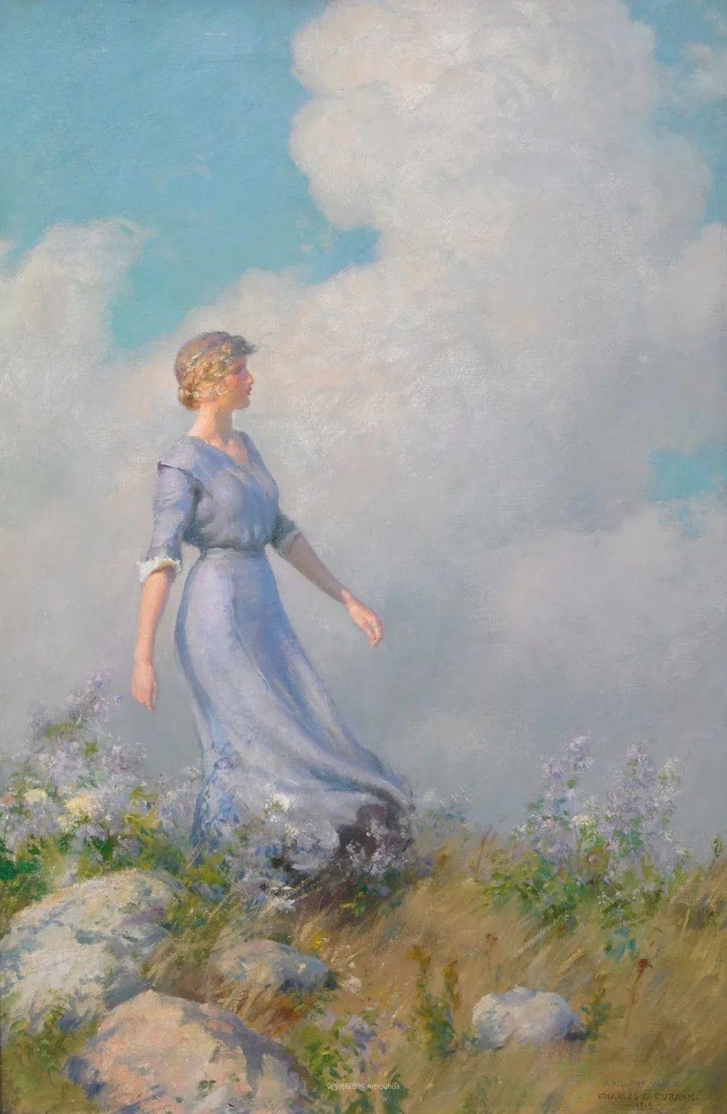 他画笔下的女人, 犹如春天的茉莉花, 清香、娇艳而不失典雅!插图77