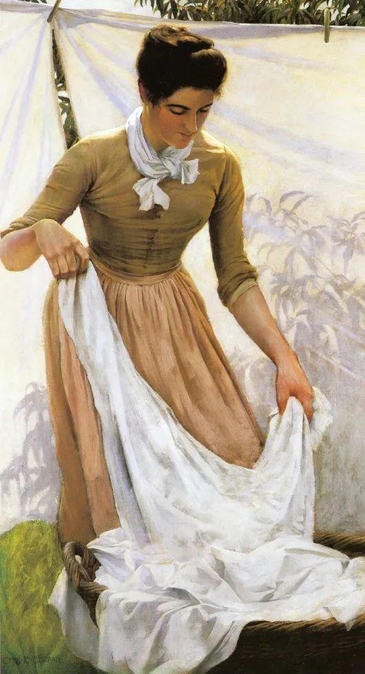 他画笔下的女人, 犹如春天的茉莉花, 清香、娇艳而不失典雅!插图85