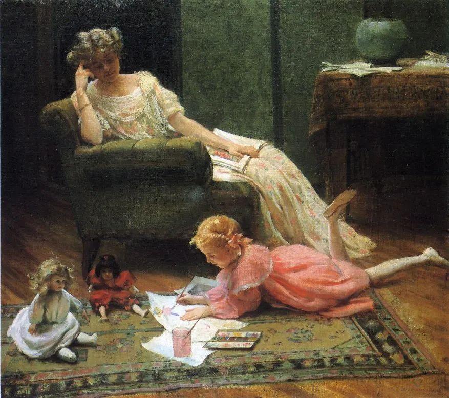 他画笔下的女人, 犹如春天的茉莉花, 清香、娇艳而不失典雅!插图89
