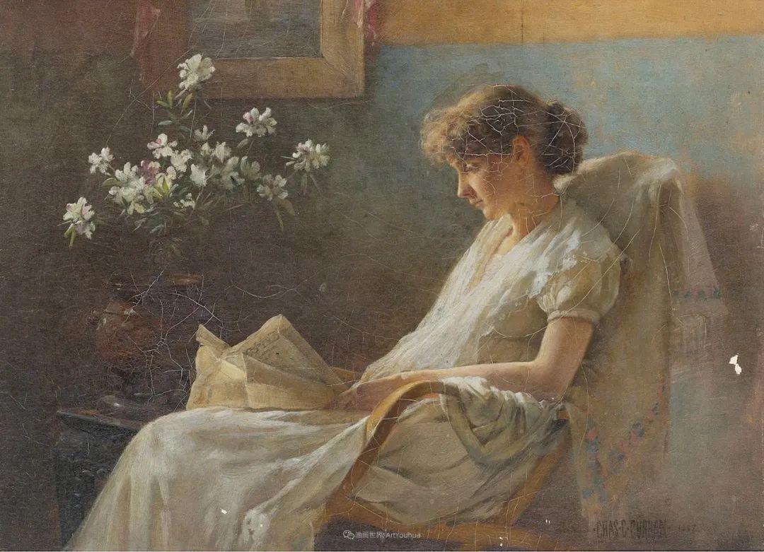 他画笔下的女人, 犹如春天的茉莉花, 清香、娇艳而不失典雅!插图91