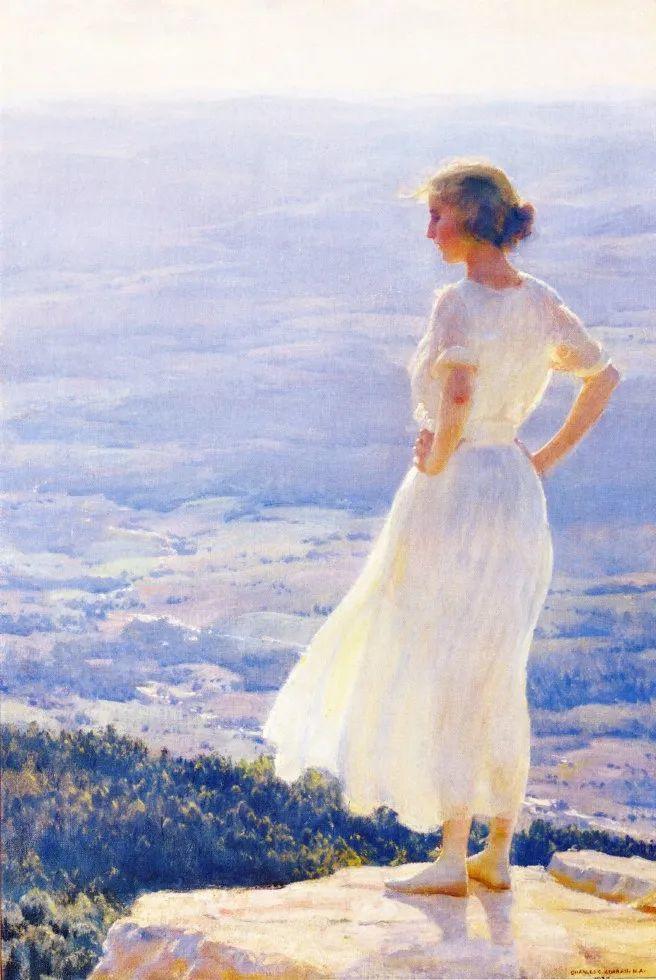 他画笔下的女人, 犹如春天的茉莉花, 清香、娇艳而不失典雅!插图95