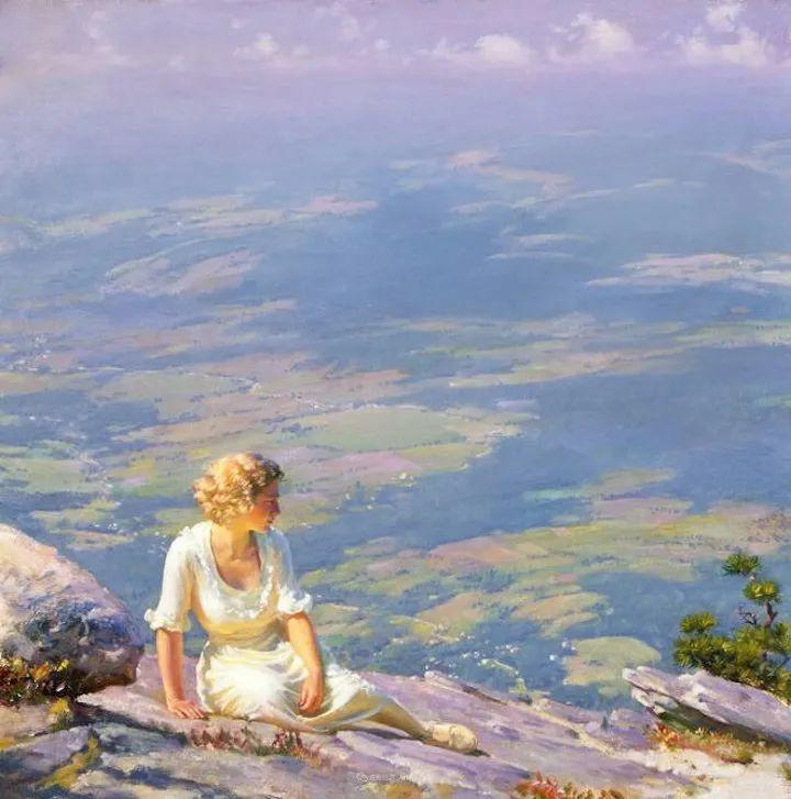 他画笔下的女人, 犹如春天的茉莉花, 清香、娇艳而不失典雅!插图99