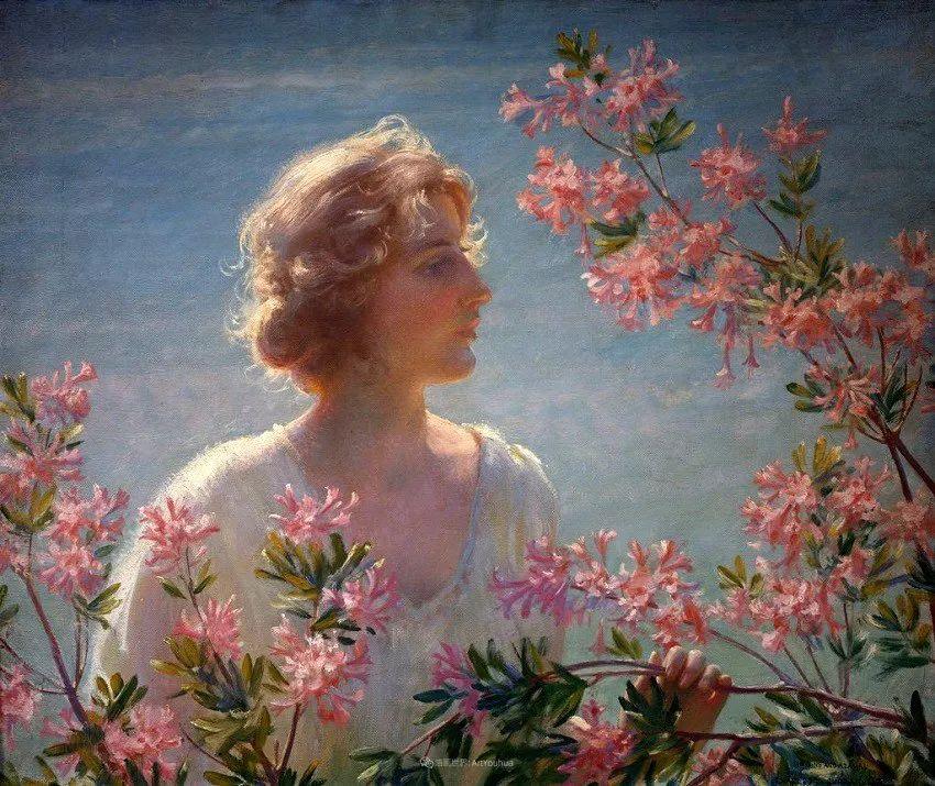 他画笔下的女人, 犹如春天的茉莉花, 清香、娇艳而不失典雅!插图107