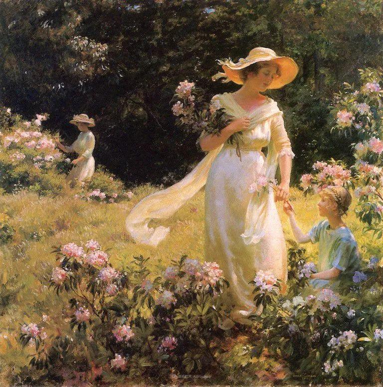 他画笔下的女人, 犹如春天的茉莉花, 清香、娇艳而不失典雅!插图109