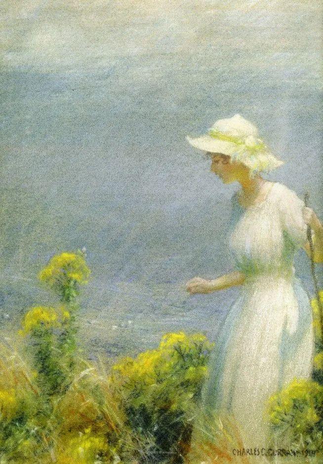 他画笔下的女人, 犹如春天的茉莉花, 清香、娇艳而不失典雅!插图115