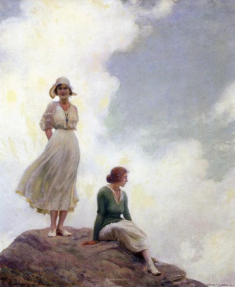 他画笔下的女人, 犹如春天的茉莉花, 清香、娇艳而不失典雅!插图117