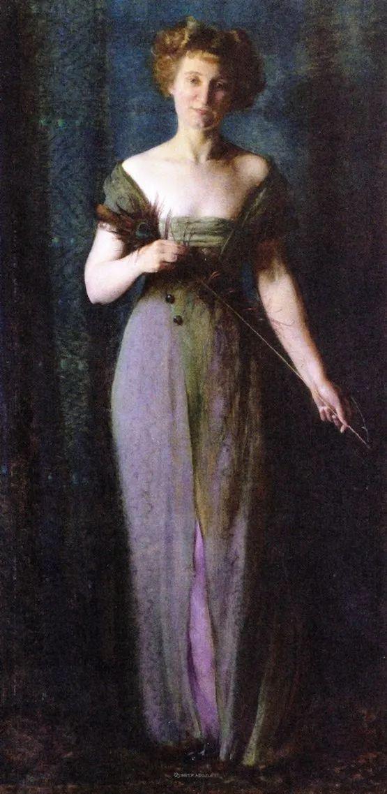 他画笔下的女人, 犹如春天的茉莉花, 清香、娇艳而不失典雅!插图119