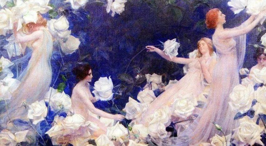 他画笔下的女人, 犹如春天的茉莉花, 清香、娇艳而不失典雅!插图123