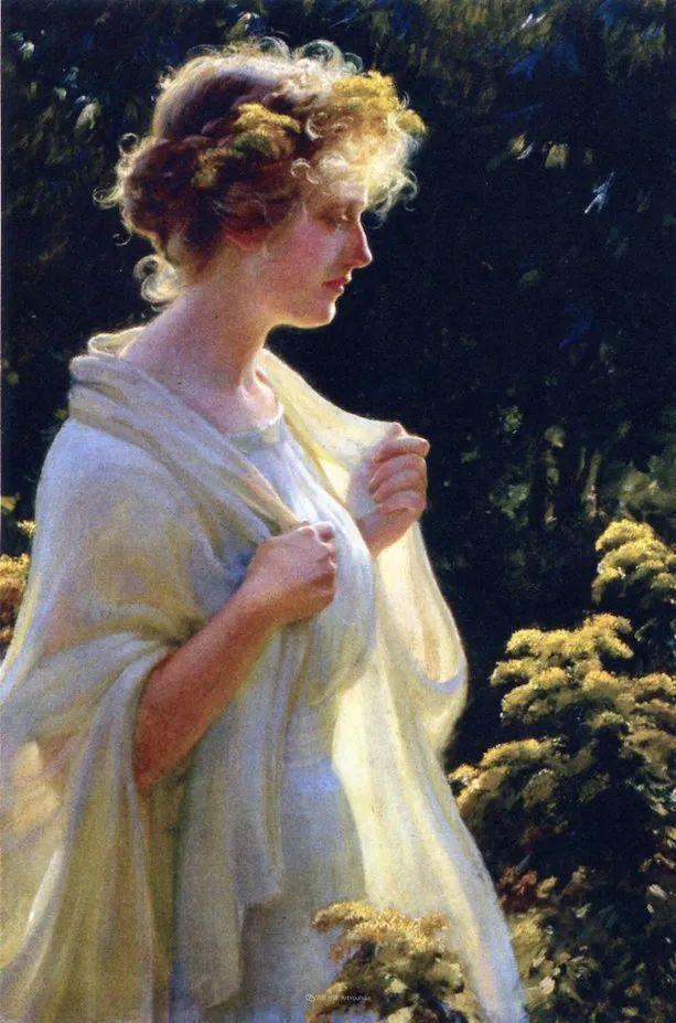 他画笔下的女人, 犹如春天的茉莉花, 清香、娇艳而不失典雅!插图133