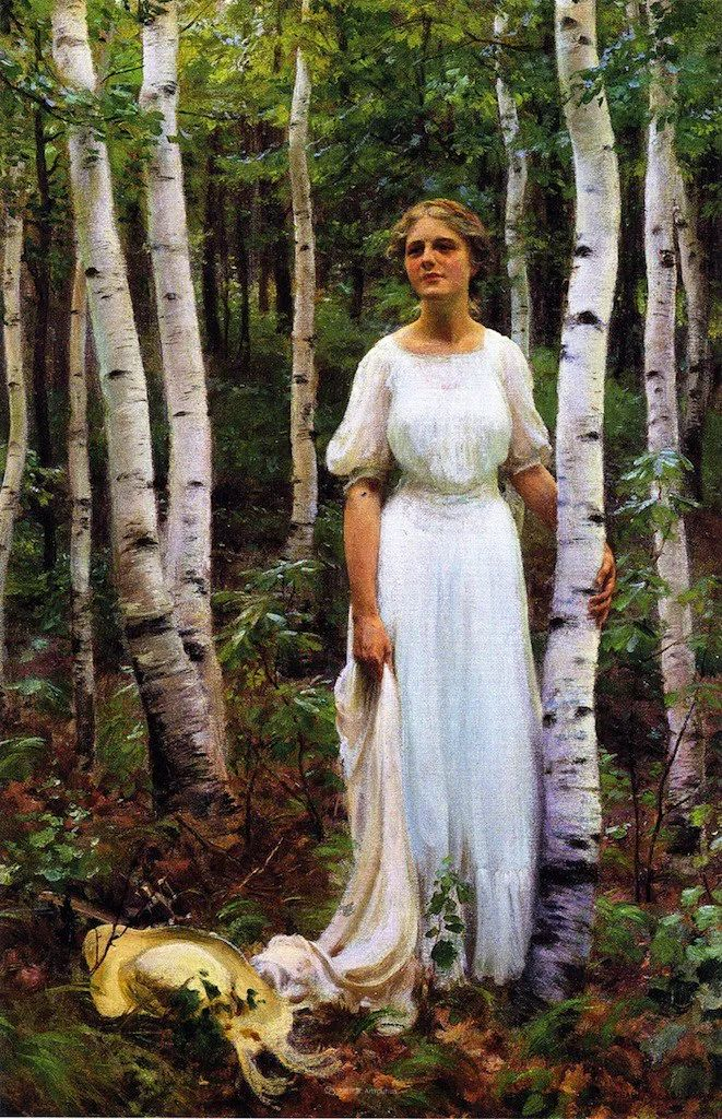 他画笔下的女人, 犹如春天的茉莉花, 清香、娇艳而不失典雅!插图139