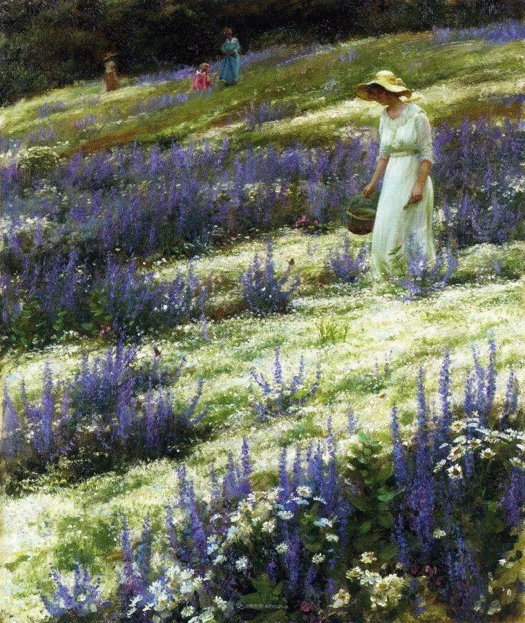 他画笔下的女人, 犹如春天的茉莉花, 清香、娇艳而不失典雅!插图141