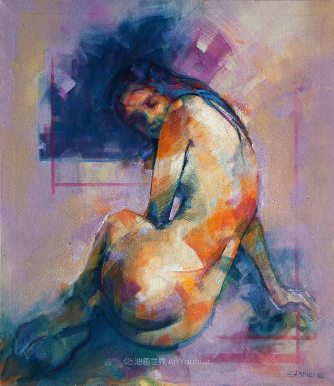 为艺术而艺术,意大利画家斯特凡诺·桑皮特罗插图17