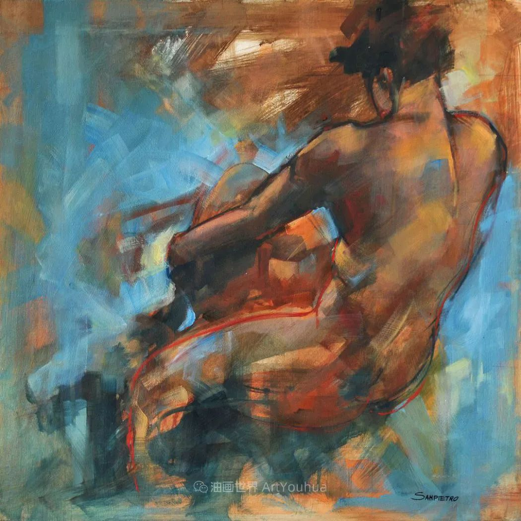 为艺术而艺术,意大利画家斯特凡诺·桑皮特罗插图19
