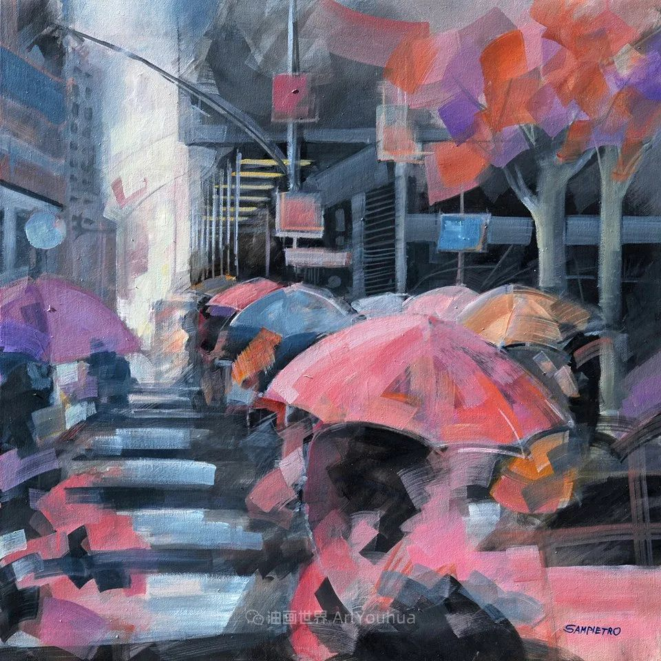为艺术而艺术,意大利画家斯特凡诺·桑皮特罗插图23