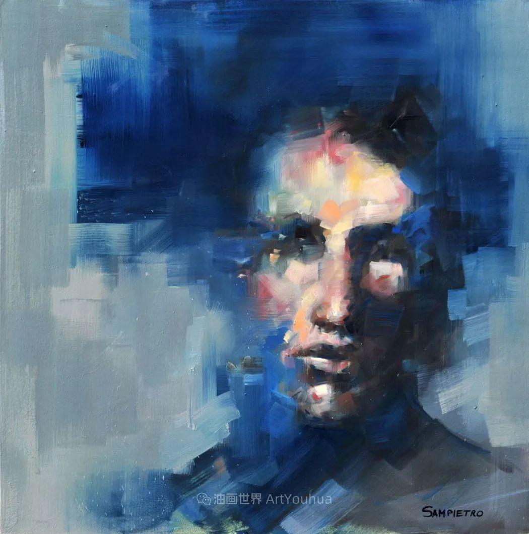 为艺术而艺术,意大利画家斯特凡诺·桑皮特罗插图25